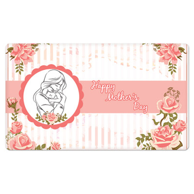 Fridge Magnet Rectangle - Happy Mother Day
